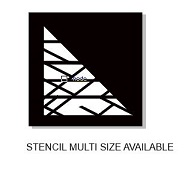 Stencil Criss cross min buy 3 multiple sizes available see drop